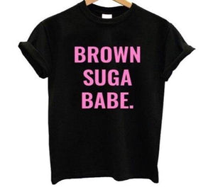 BROWN SUGA BABE T-Shirt-Sunshine's Boutique & Gifts