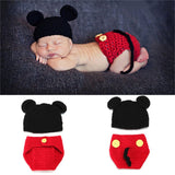 Baby Cartoon Crochet Photography Props