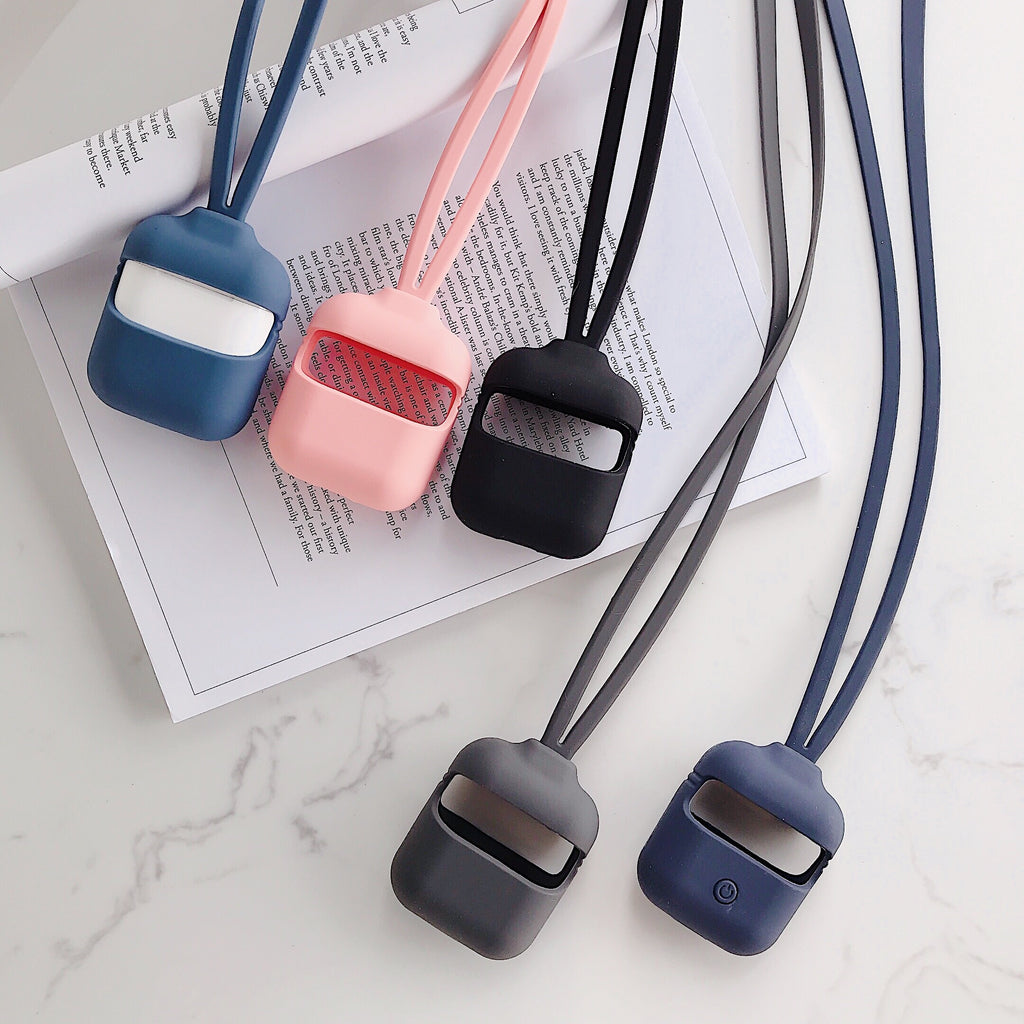 Liquid Silicone lanyard rope for apple airpods-Sunshine's Boutique & Gifts