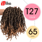 10 Inch Synthetic Pre Twisted Crotchet Braiding Hair