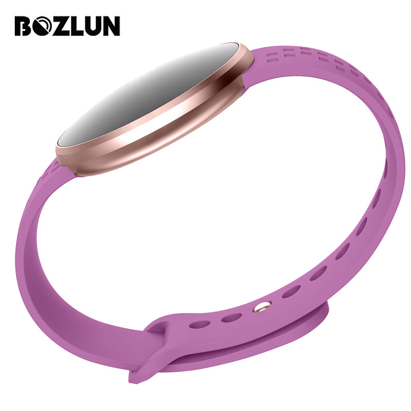 Bozlun Woman Smart Watch Waterproof Heart Rate Monitor Bluetooth Message-Sunshine's Boutique & Gifts