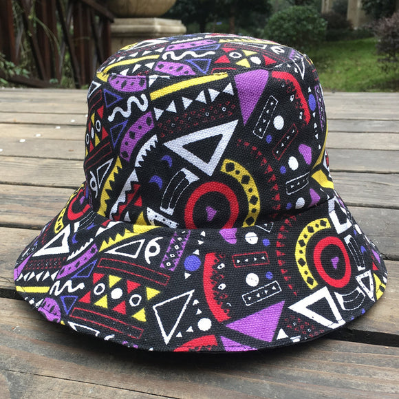 Graffiti Flat Bucket Hat-Sunshine's Boutique & Gifts