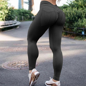 Fitness High Waist Push Up Leggings-Sunshine's Boutique & Gifts