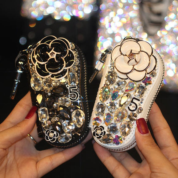 Diamond Car Key Case