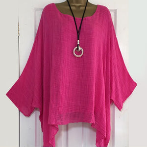Casual Batwing Sleeve Blouses-Sunshine's Boutique & Gifts