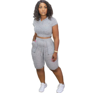 Casual Two Piece Tracksuit