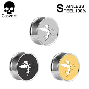 Fairy Ear Gauges Plugs Stainless Steel-Sunshine's Boutique & Gifts