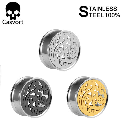 New arrival stainless steel ear plug