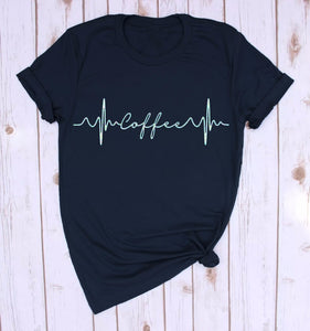 Coffee Short Sleeve tshirt-Sunshine's Boutique & Gifts
