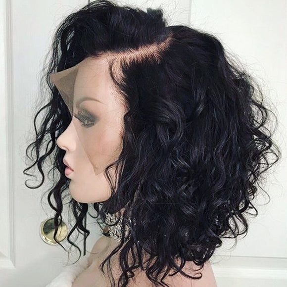 Curly Lace Front Human Hair Wigs-Sunshine's Boutique & Gifts