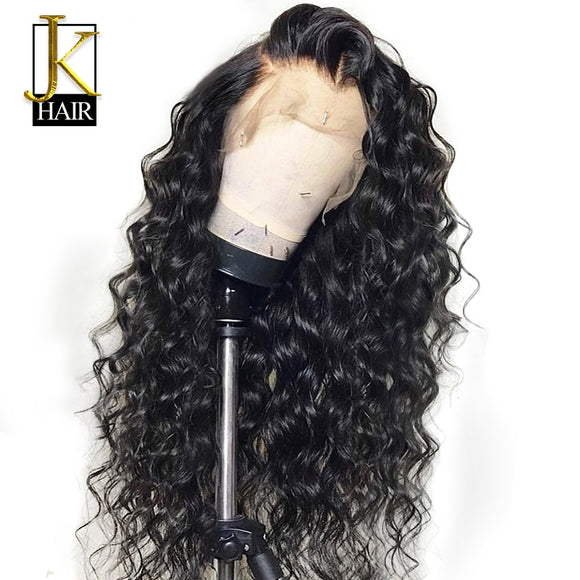 Curly Lace Front 360 Human Hair Wigs-Sunshine's Boutique & Gifts