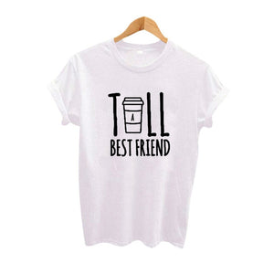 Cute Best Friend Tall and Short Matching T-Shirt-Sunshine's Boutique & Gifts