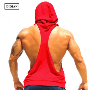 Men Fitness Hooded Sleeveless Breathable Top-Sunshine's Boutique & Gifts