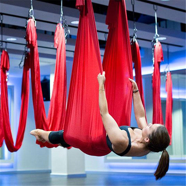 Elastic 5 meters Aerial Yoga Hammock Swing-Sunshine's Boutique & Gifts