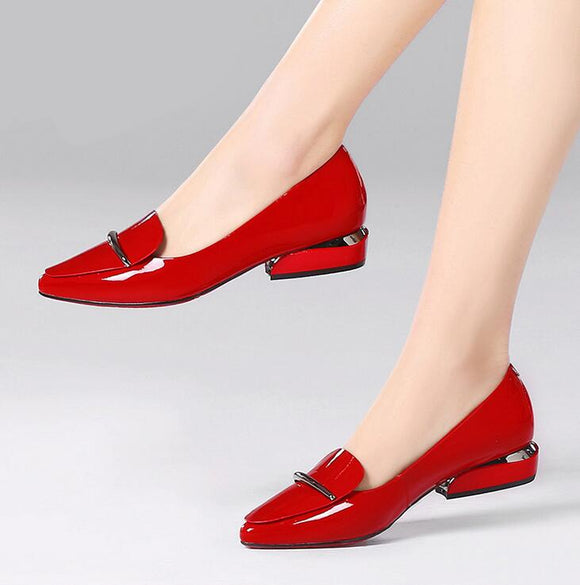 Elegant Pointed Toe Flat-Sunshine's Boutique & Gifts