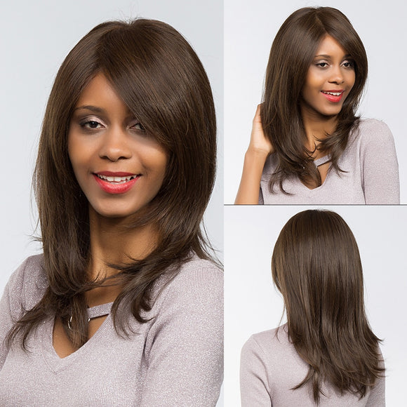 20 Inch Long Straight Hair Synthetic Heat Resistant Fiber-Sunshine's Boutique & Gifts