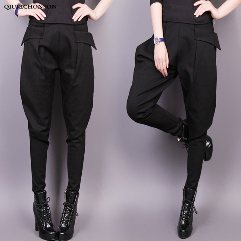 England Style High Waist Harem Pants-Sunshine's Boutique & Gifts