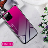 Tempered Glass Case For iPhone 11 Pro MAX