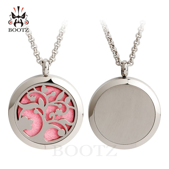 Fashion Round Tree of Life Aromatherapy Essential Oil Diffuser Locket-Sunshine's Boutique & Gifts