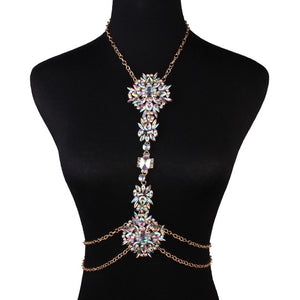 Sexy Body Chain Exaggerated Luxury Crystal-Sunshine's Boutique & Gifts
