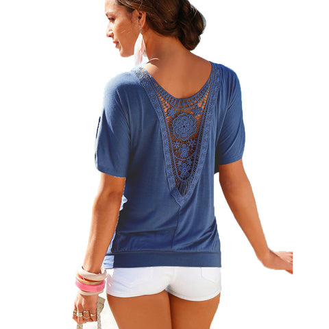 Summer Casual 0-Neck Top Tee