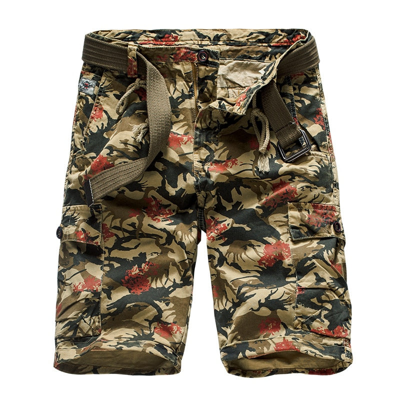 Men Military Cargo Shorts-Sunshine's Boutique & Gifts