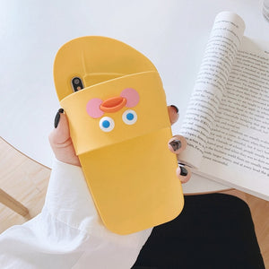 Funny slippers Shoes Phone Case For iphone