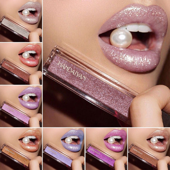 Long Lasting Matte Liquid Lipstick Waterproof Metallic-Sunshine's Boutique & Gifts