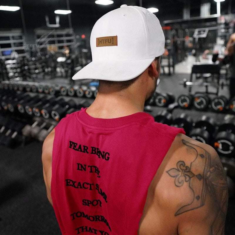 Men Bodybuilding Fitness Tank Top-Sunshine's Boutique & Gifts