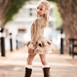 Tutu Princess Sweater Dresses