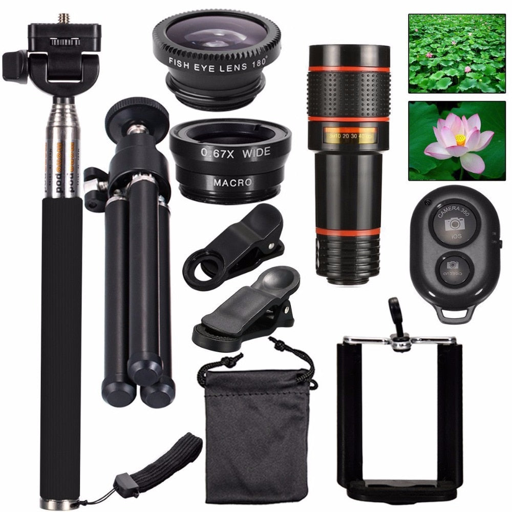 All in One Accessories Camera Lens Smartphone.-Sunshine's Boutique & Gifts