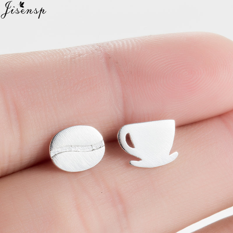 Coffee Cup and Bean Earrings-Sunshine's Boutique & Gifts