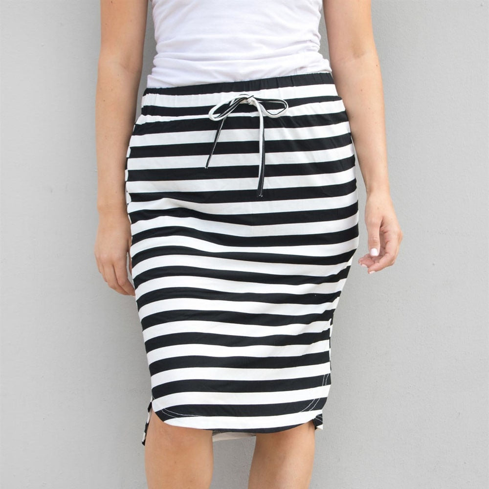 Fashion for women Stripe skirts-Sunshine's Boutique & Gifts