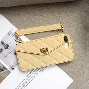 Luxury IPhone Card Slot Handbag With Long Chain-Sunshine's Boutique & Gifts