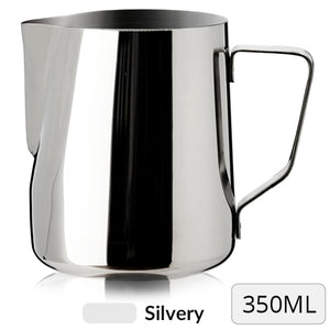 Stainless Steel Milk Frothing Pitcher, 350ml-Sunshine's Boutique & Gifts