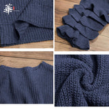Knitted Ruffle Soft Pullover Sweater