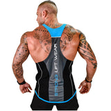 Men Fitness Bodybuilding Muscle Tank Tops-Sunshine's Boutique & Gifts