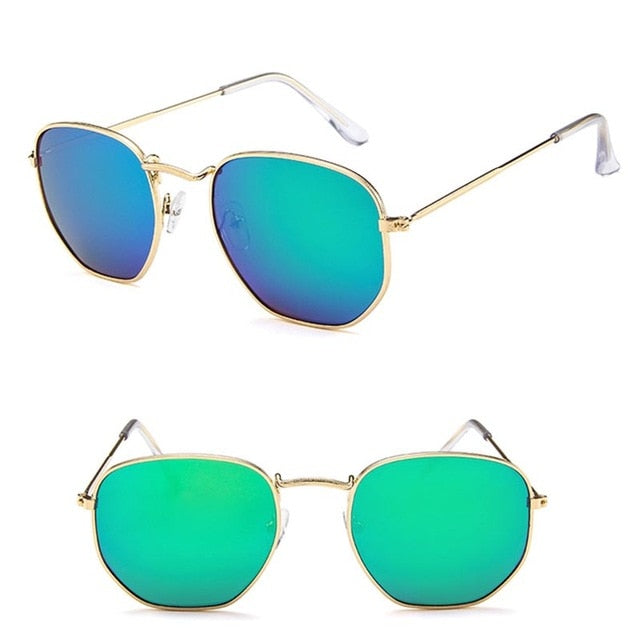 Polygonal Women Sunglasses UV400-Sunshine's Boutique & Gifts