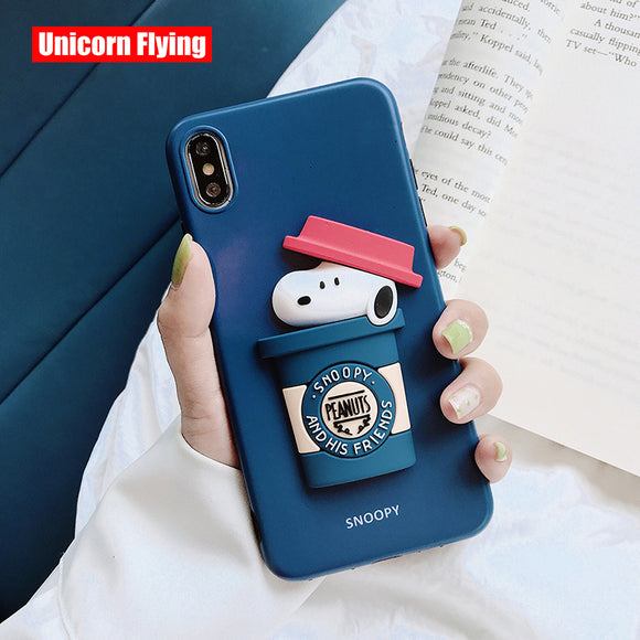 Cartoon 3D Phone Case For iphone