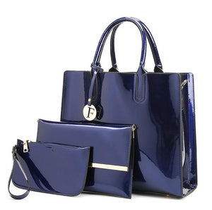 Luxury Patent Leather Handbags-Sunshine's Boutique & Gifts