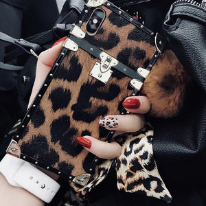 Luxury leopard phone case for iphone-Sunshine's Boutique & Gifts