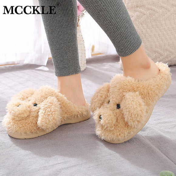 Plush House Slippers