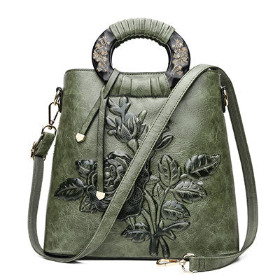 Leather Women Handbags-Sunshine's Boutique & Gifts