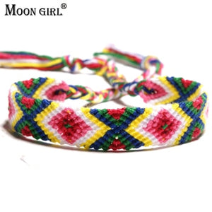 Brazil Boho Hand Weave Braided Bracelets-Sunshine's Boutique & Gifts