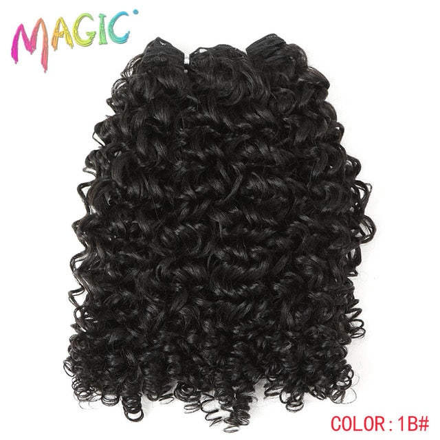 "Magic 24"" Long Synthetic Bohemian Curly Hair Extensions-Sunshine's Boutique & Gifts"
