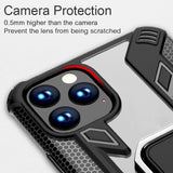 Magnetic Holder Ring Shockproof Armor Case For Iphone