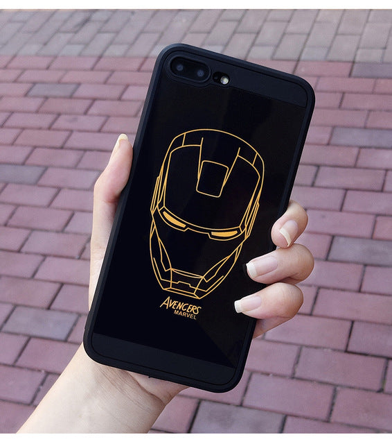 Marvel case for iphone X XS MAX XR 10 8 7 6 6S plus-Sunshine's Boutique & Gifts