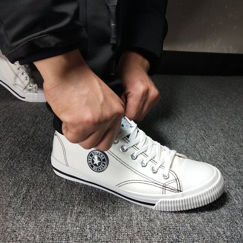 Men Canvas Casual Sneakers-Sunshine's Boutique & Gifts