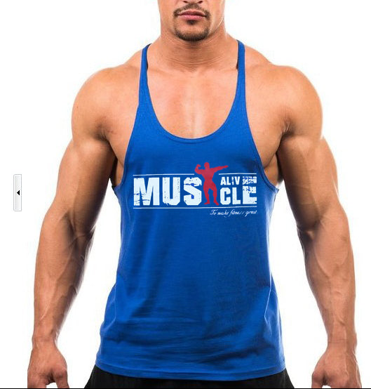 Bodybuilding Cotton Tank tops-Sunshine's Boutique & Gifts