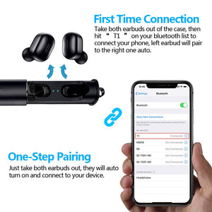 3D True Wireless Stereo Earbuds With Mic-Sunshine's Boutique & Gifts